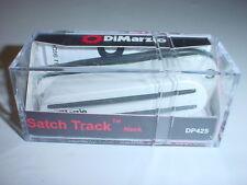 DiMarzio DP425 Satch Track Neck Single Coil Guitar Pickup - WHITE