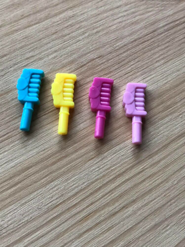1 x UNBRANDED UNUSED HAIR COMB COMPATIBLE WITH LEGO MINIFIGURES FRIENDS DISNEY