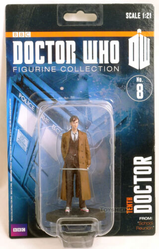 "Doctor Who 4/"" No 8 Tenth Doctor School Reunion figure Underground 012996"