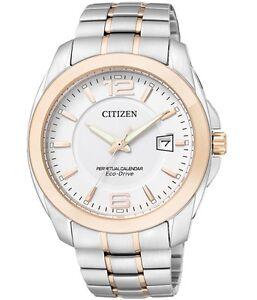 Citizen Eco-Drive BL1248-57A Perpetual Calendar Mens Solar Watch NEW RRP $599.00