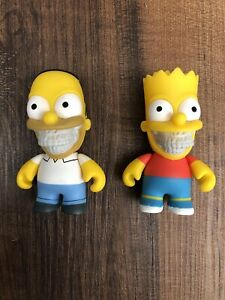 Ron-English-Popaganda-x-Kid-Robot-Bart-amp-Homer-Simpson-3-034-Limited-Exclusive