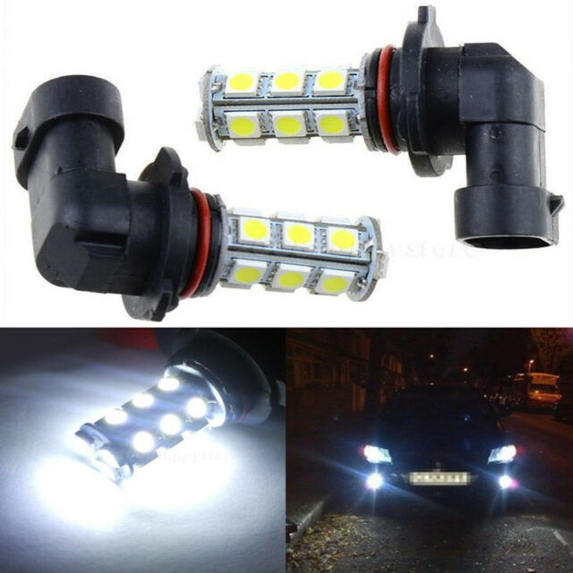2xsuper White LED 9005 Hb3 Fog Driving Light Bulbs 9145