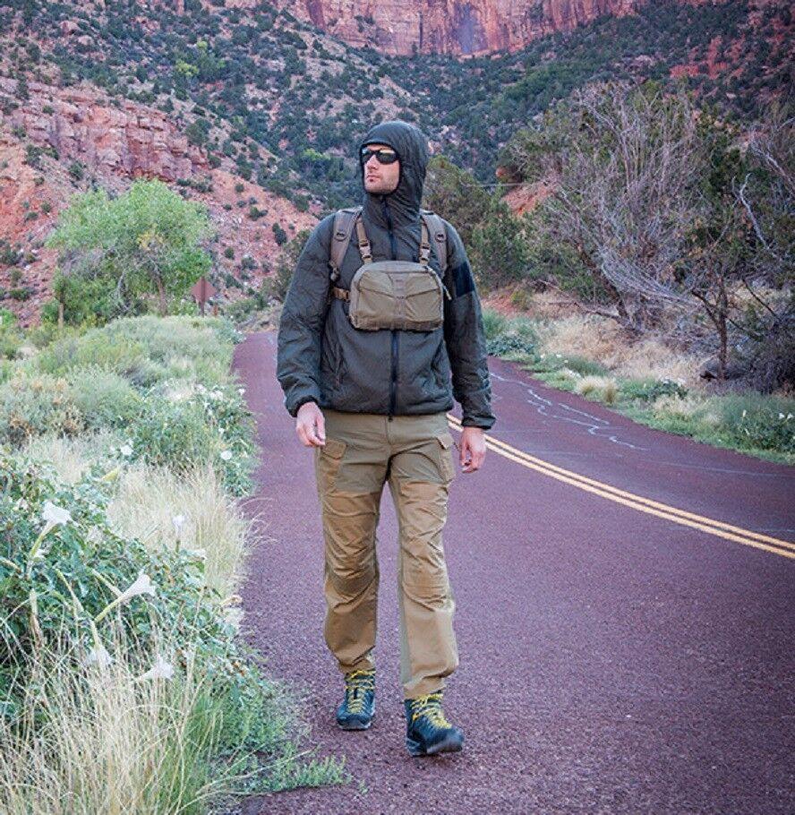 Helikon Tex Chest Pack Numbat Wandern Wandern Wandern Outdoor Survival Brusttasche Schwarz bfc060
