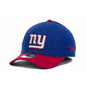 01277b5dedca89 New York Giants NFL All Over Logos 2-Tone New Era 39Thirty Hat Cap ...