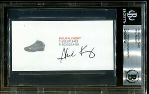 Phil-Knight-Nike-Founder-Signed-Business-Card-Autograph-Auto-BAS-Beckett-COA-29
