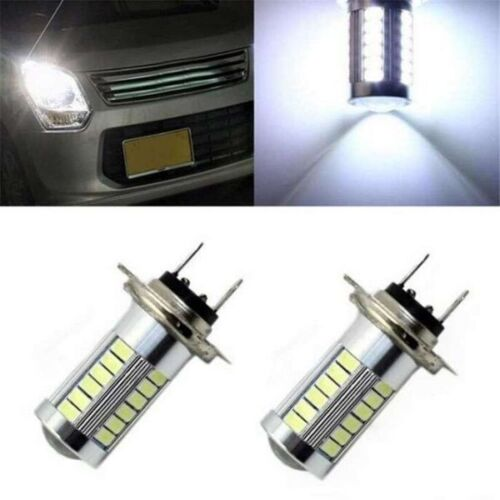IVECO DAILY 2000-2006 2X H7 5630 33SMD LED 12V  HEADLIGHT WHITE LIGHT BEAM BULB