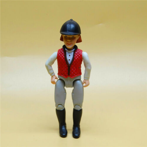 """Fisher Price Loving Family Dollhouse Doll People Western Rider figure 5/"""" OLD"""