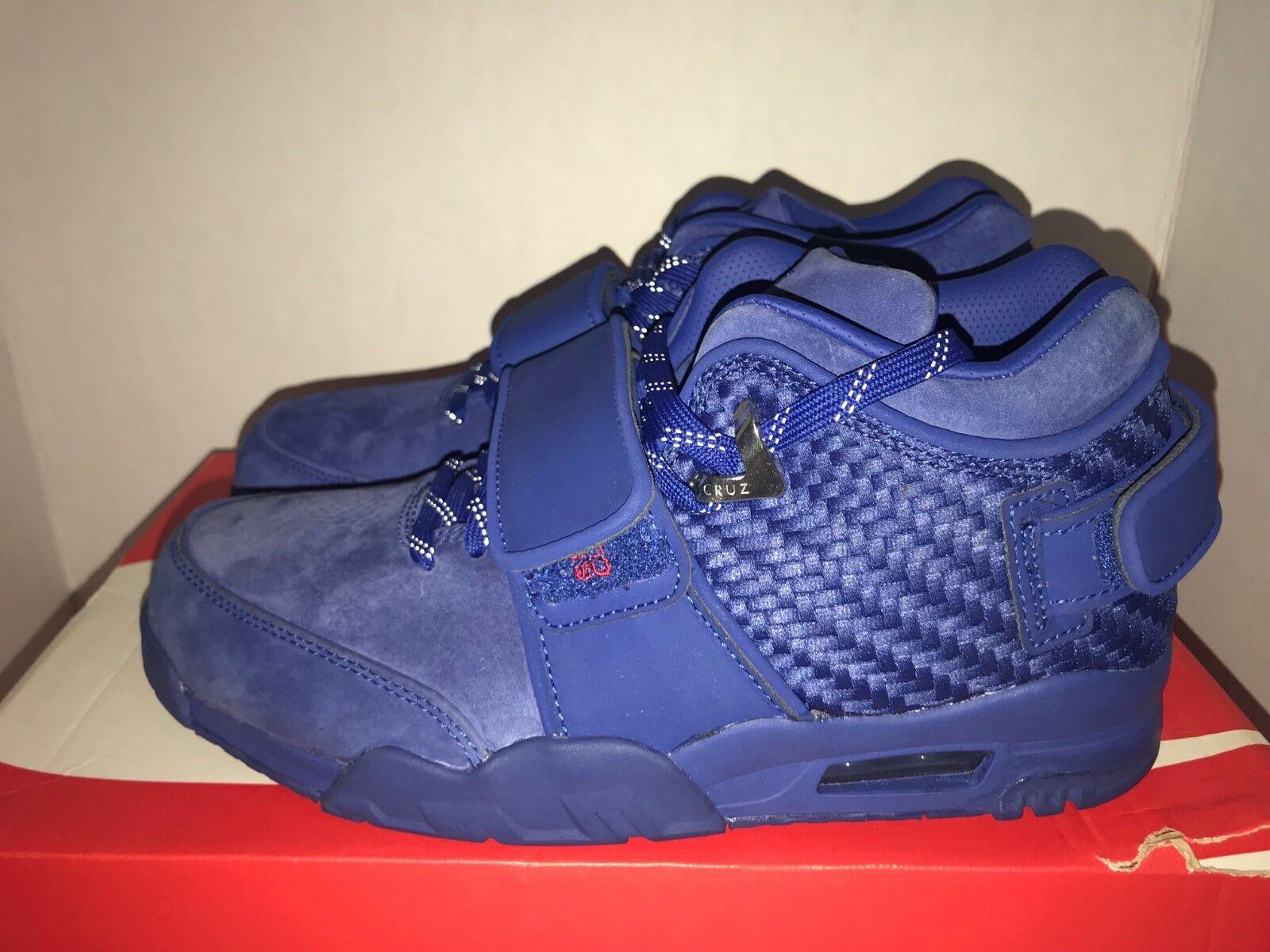 Nike Air TR V Cruz Prm QS Men's Size 8.5 11 13 14 Rush bluee NY Giant's Victor