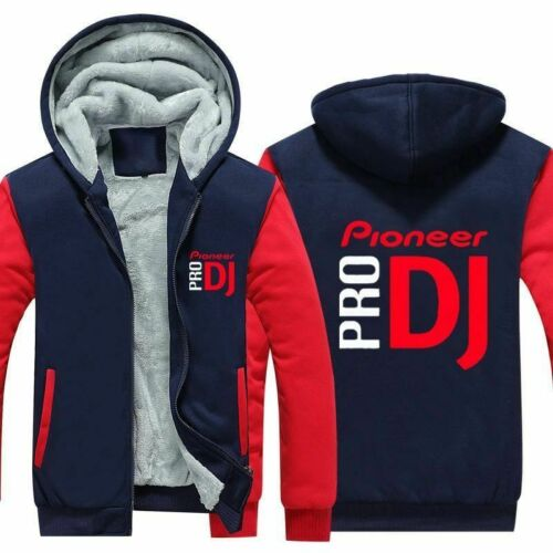 Warm Hoodie Jumper Men Women Sweatshirt Pro DJ Pioneer Winter Jacket Coat