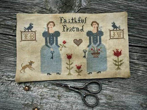 10/% Off Scattered Seed Samplers Ctd x-stitch chart-Prairie Sisters Scissor Mat