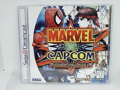 Marvel Vs Capcom Dreamcast Reproduction Case No Disc Ebay