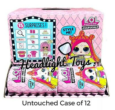 LOL Surprise Dolls Makeover Series 5 Wave 2 Hairgoals Full Case Box Of 12 NEW!