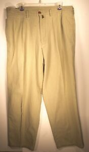 Men-039-s-Patagonia-Pants-Chino-Khaki-100-Cotton-Made-In-USA-size-35-5-x-29-5