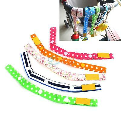 Toy Straps for Prams,Strollers,Seats-Easy to Attach Adjustable Length Convenient