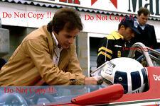 GILLES Villeneuve & DIDIER PIRONI FERRARI F1 Ritratto Fotografia 1981