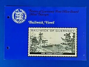 GB Guernsey Set of 4 Mint Stamps Presentation Pack 1976 Bailiwick Views