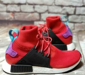 54cbbc5e66eea MEN S NEW ADIDAS NMD XR1 WINTER Mid Scarlet SNEAKERS (BZ0632) Size ...