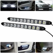 UK Car 12 LED Daytime Running Light DRL Daylight Fog Lamp Day Lights Waterproof