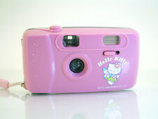 Hello Kitty 35mm Point & Shoot Film Camera Built in Flash Pink 2006 Sanrio