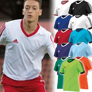 Adidas-maglietta-allenamento-ClimaLite-corsa-sport-calcio-tennis-tempo-libero