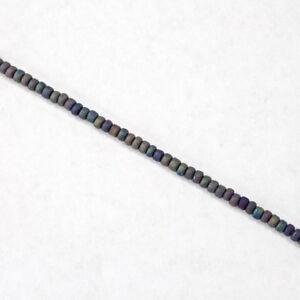 11//0 Matte Opaque Burnt Sienna Japanese Seed Bead #JPJ016 20 gm