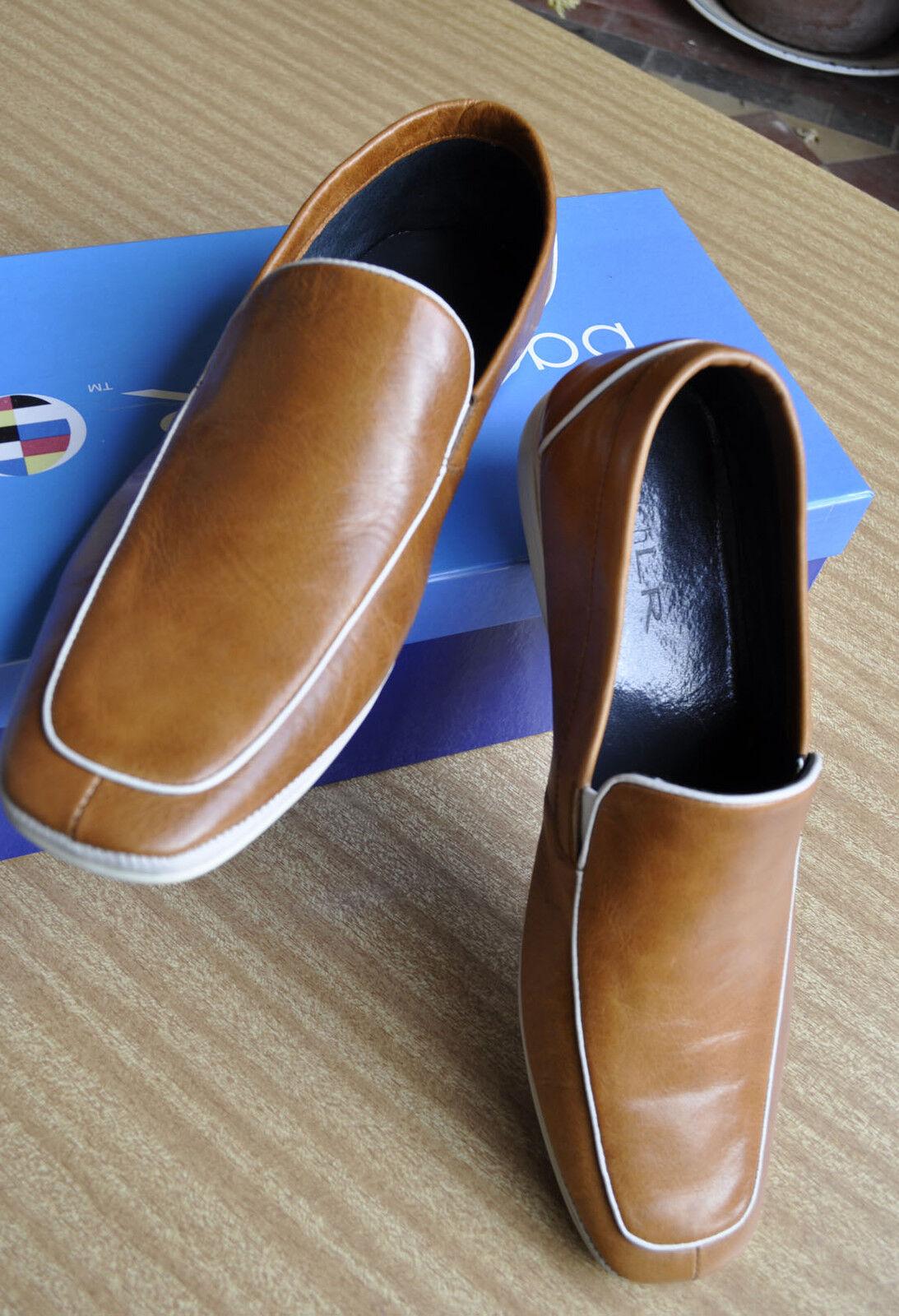 Bach Lr Para Hombre Cuero Vestido Loafers Zapatillas-Estilo  Chaise Longue