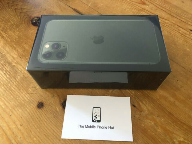 NEW SEALED Apple iPhone 11 PRO MAX 256GB A2218 MIDNIGHT GREEN UNLOCKED WARRANTY