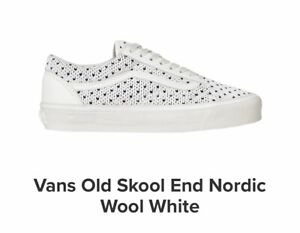 vans blanche old school