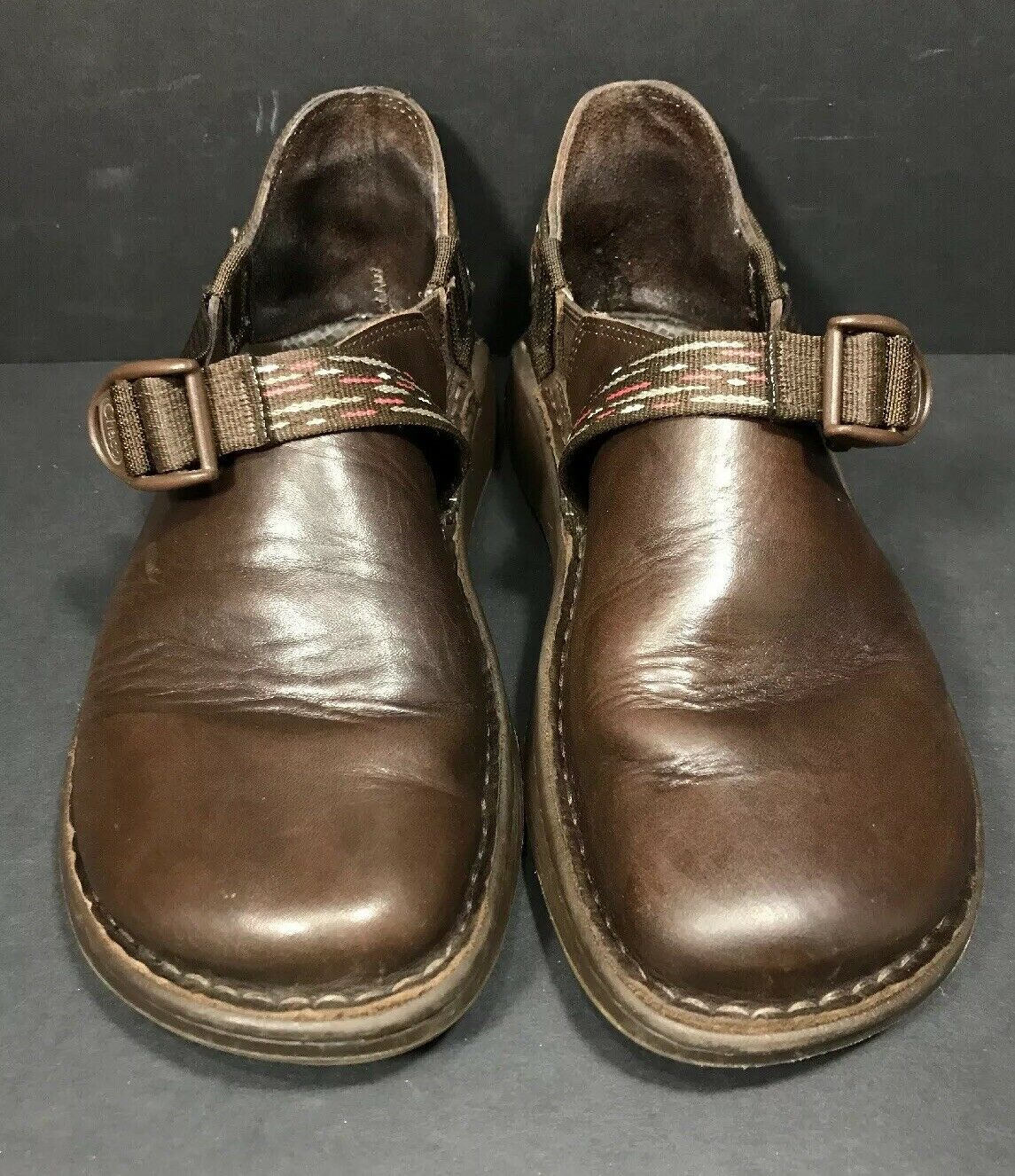 Chaco Pedshed Brown Leather shoes Womens 10