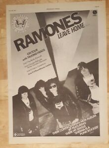 Ramones-Leave-home-tour-1977-press-advert-Full-page-28-x-38-cm-poster