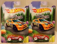 2-2015 Hot Wheels Happy Easter Super Gnat 4/6 Walmart Wheel Variation Quantity