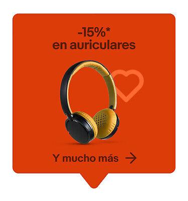 -15%* en auriculares y mucho más