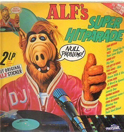 Alf's Super Hitparade (1988) Inner City, Yazz, Bill Withers, Scritti Po.. [2 LP]