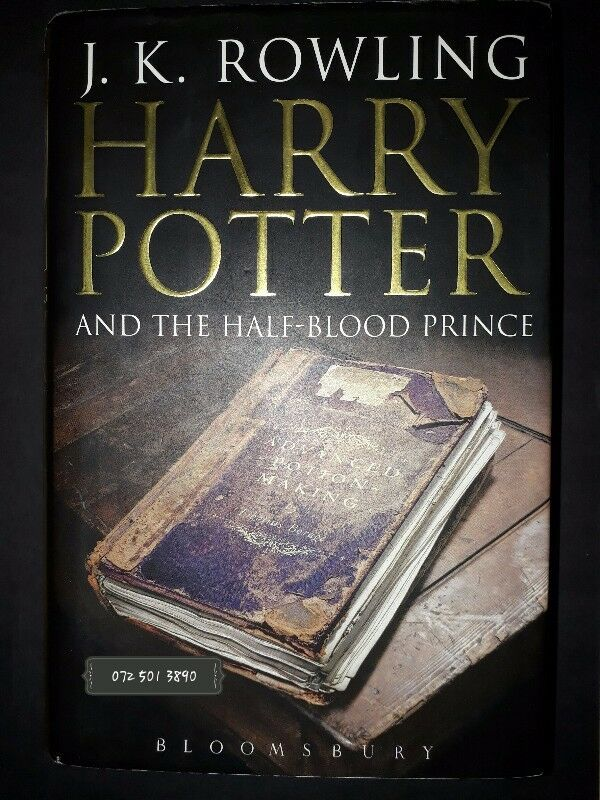 Harry Potter And The Half-Blood Prince - J.K. Rowling - Book 6 - First Edition.