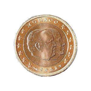""""" ""original 1 Euro Monaco 2002""""""-afficher Le Titre D'origine"