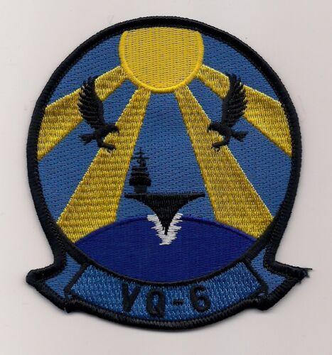 USN VQ-6 BLACK RAVENS patch ES-3A CARRIER AIR RECONNAISSANCE SQN