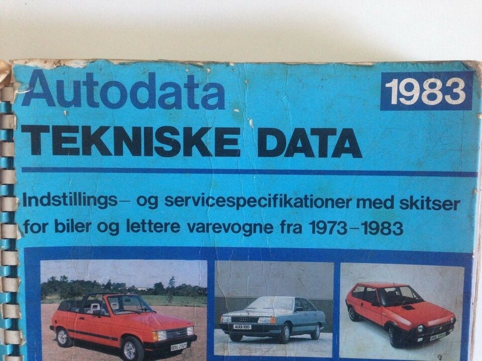autodata tekniske data veteranbil veteranbiler