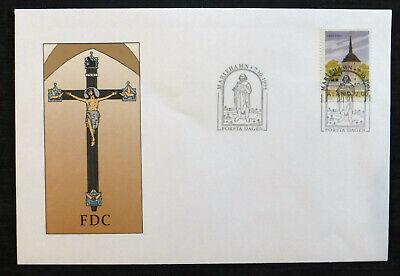 Herzhaft Ersttagsbrief 1994 Finnland Post Alandinseln Strukturelle Behinderungen Briefmarken