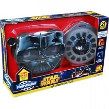 STAR WARS 3D VIEW-MASTER GIFT SET Revenge of Sith 3 Reels Viewer Darth Vader NEW
