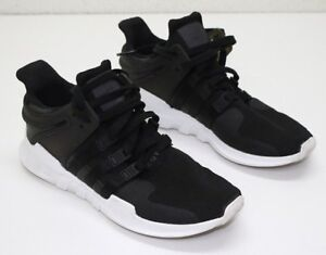 buy online 181b3 815f3 Image is loading Adidas-Originals-EQT-Support-Adv-CP9557-Black-White-