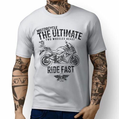 JL Ultimate Illustration For A Suzuki GSX S1000F 2016 Motorbike Fan T-shirt