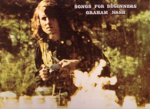 "GRAHAM NASH ""Songs for Beginners""  VINYL Classic Records TESTPRESSUNG 2004 RARE"