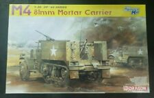 """SGTS MESS AV06 1//72 Diecast US M2 Halftrack 3/""""  Mortar Carrier"""