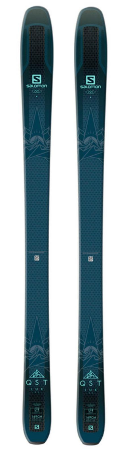 2019 Salomon QST 92 Lux 153cm ladies snow skis 153cm Lux w-bind (+ POLES at BuyItNow) NEW db6bcd