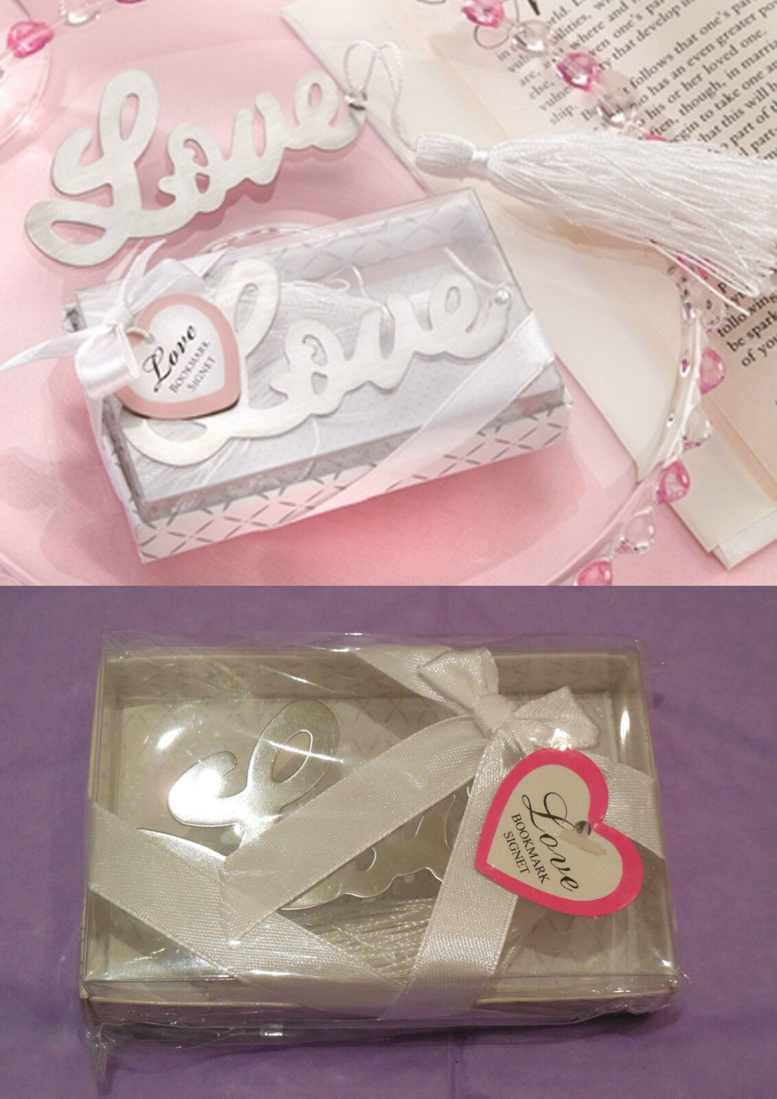 A gift box of LOVE Design Bookmark Wedding gift / Birthday gift Each ...