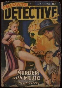 Private-Detective-1942-January-Great-showgirl-cover-Pulp