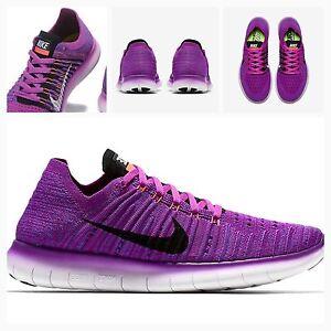 BNIB Womens Nike Free RN Flyknit UK 4.5 WMNS Run Trainers Gym ... 844b2d3752aa