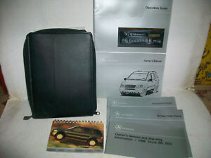1998 Mercedes Benz Ml 320 Owners Manual