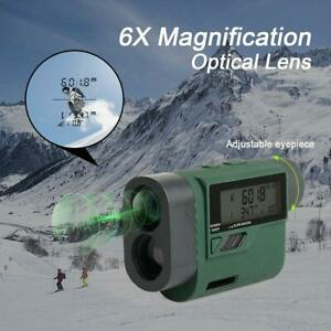 Huepar HLR1000 Golf Entfernungsmesser 1000M/1100Yards mit Handheld LCD Display