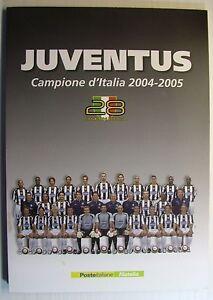 """2005 Italia Folder """"Juventus Campione 2004-2005 """" - Italia - 2005 Italia Folder """"Juventus Campione 2004-2005 """" - Italia"""
